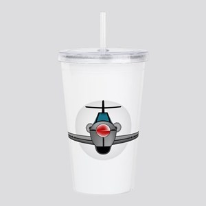Old Style Fighter Airc Acrylic Double-wall Tumbler