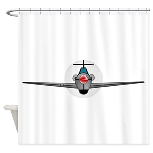 Wwii Fighter Planes Shower Curtains