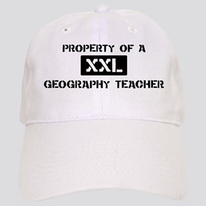 Property of: Geography Teache Cap