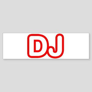 DJ Bumper Sticker