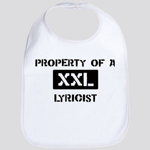 Property of: Lyricist Bib