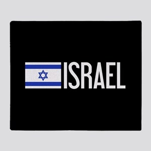 Israel: Israeli Flag & Israel Throw Blanket