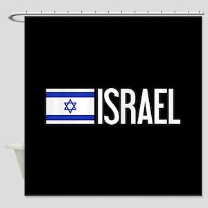 Israel: Israeli Flag & Israel Shower Curtain