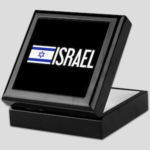 Israel: Israeli Flag & Israel Keepsake Box