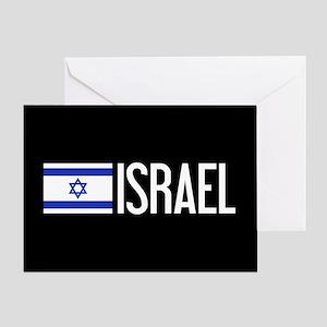 Israel: Israeli Flag & Israel Greeting Card