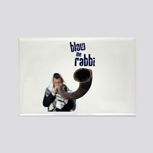 rabbi Rectangle Magnet