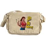 Big Bobbers Messenger Bag