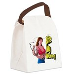 Big Bobbers Canvas Lunch Bag