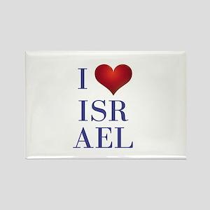 i love israel Rectangle Magnet