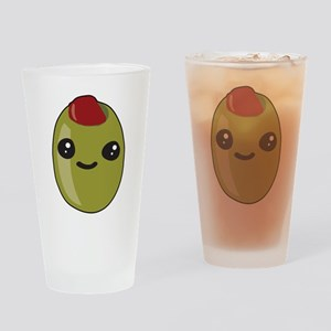 Cute Olive Drinking Glass