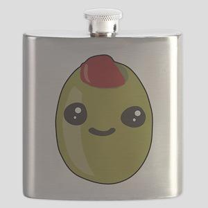 Cute Olive Flask