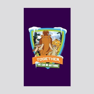 Ice Age Together Sticker (Rectangle)
