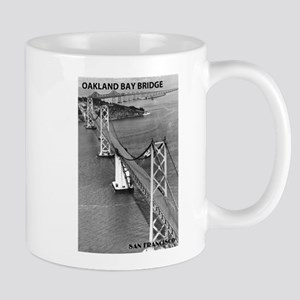 San Francisco - Aerial View of Oakland Bay Bridge