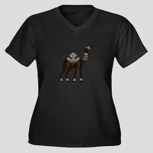 CAMEL Plus Size T-Shirt
