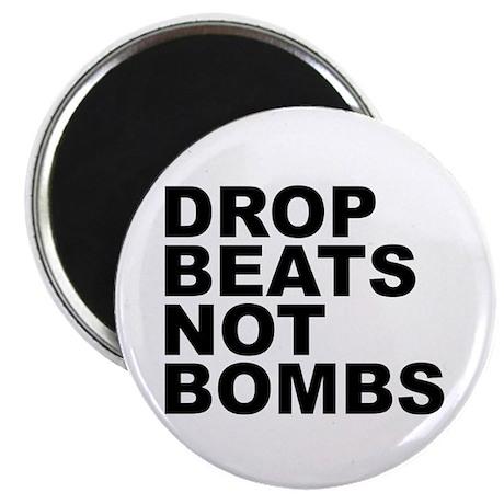 Drop Beats Not Bombs 4 Magnet