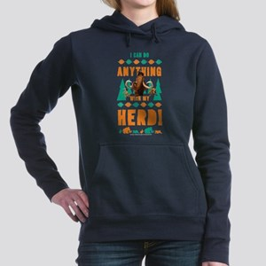 Ice Age Herd Women's Hooded Sweatshirt