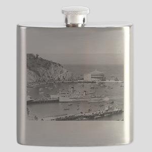 Catalina Island, CA - Steamers & Casino Flask
