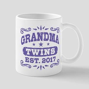 Grandma Twins Est. 2017 Mug