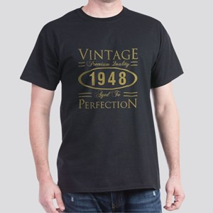 Mens Funny 70th Birthday Cap 1595 1999 Vintage 1948 Premium T Shirt