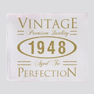 Vintage 1948 Premium Throw Blanket