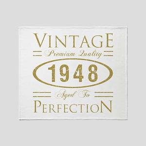 Vintage 1948 Premium Throw Blanket
