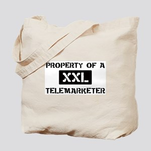 Property of: Telemarketer Tote Bag