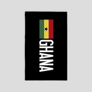 Ghana: Ghanaian Flag & Ghana Area Rug