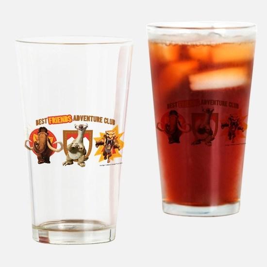 Ice Age Best Friends Drinking Glass