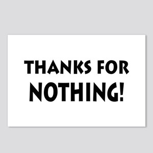 Thanks for Nothing! Postcards (Package of 8)