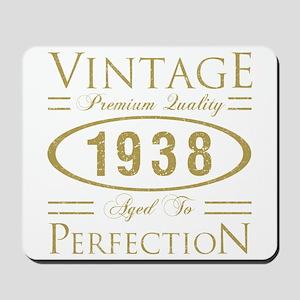 Vintage 1938 Premium Mousepad