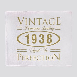 Vintage 1938 Premium Throw Blanket