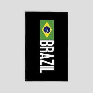 Brazil: Brazilian Flag & Brazil Area Rug