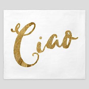 Golden Look Ciao King Duvet