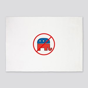 Anti Republican 5'x7'Area Rug