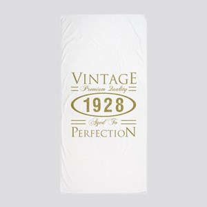 Vintage 1928 Premium Beach Towel