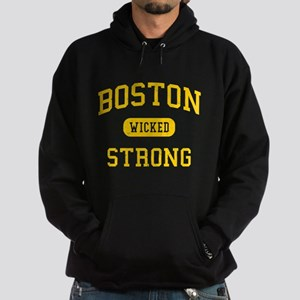 Boston Wicked Strong Hoodie (dark)
