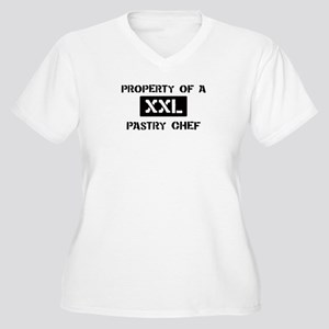 Property of: Pastry Chef Women's Plus Size V-Neck