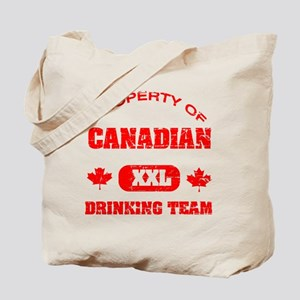 Canadian drinking team Tote Bag