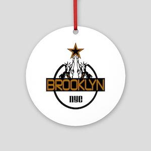 """Brooklyn Shirts"" Ornament (Round)"