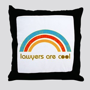 Lawyers Are Cool Throw Pillow