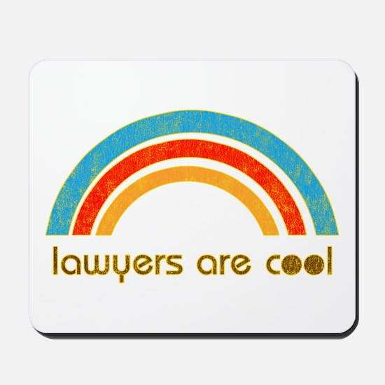 Lawyers Are Cool Mousepad