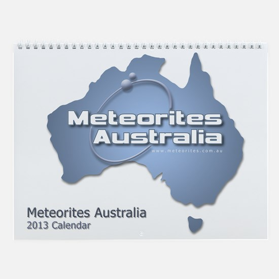 Meteorites Australia 2013 Wall Calendar
