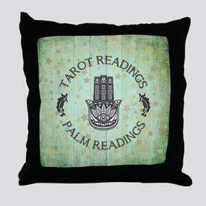 TAROT READINGS Throw Pillow