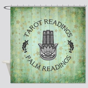 TAROT READINGS Shower Curtain