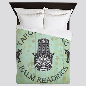 TAROT READINGS Queen Duvet