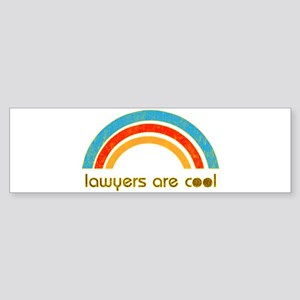 Lawyers Are Cool Bumper Sticker