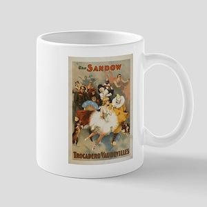 Sandow Trocadero Vaudevilles - Vintage Poster Mugs