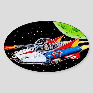 V-7 SPACE SHIP Sticker