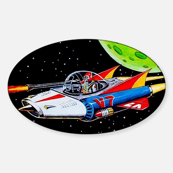 V-7 SPACE SHIP Decal