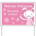 Princess Party Yard Sign